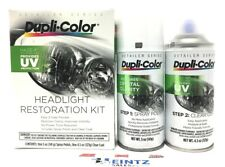 Duplicolor HLR100 Headlight Restoration Kit-UV Protection Coating-New Headlights