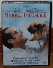MEJOR... IMPOSIBLE DVD NUEVO PRECINTADO COMEDIA DRAMA (SIN ABRIR) R2