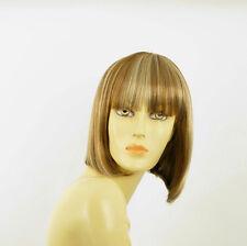 Perruque femme courte blond foncé méché blond clair FLORENCE F27613