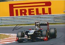 Genuine NICK HEIDFELD Signed LOTUS Pirelli Autograph BMW F1 12x8 Photo AFTAL COA