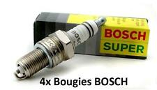 4 Bougies 0242229576 BOSCH Super FORD USA PROBE II 2.5 V6 24V 162 CH