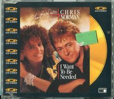 Shari Belafonte + Chris Norman CD-video I want to be needed (C) UK 1988