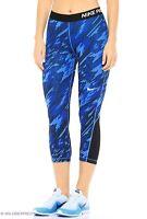 Nike Pro Overdrive Capri Training Running Leggings 803160 435 Women's New