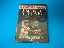 4 Feature Films Jackie Chan DVD Action Pack NEW Young Tiger, Fire Dragon & More