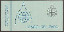 Vatican City 1985 Booklet #2 (Sc# 743a) John Paul II Trips of 1981-82 MNH