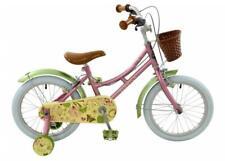 "Elswick Hope 16"" Wheel Kids Girls Starter Bicycle Outdoor Bike 2019 Pink/Green"