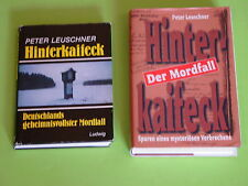 2 x HINTERKAIFECK - DEUTSCHLANDS GEHEIMNISVOLLSTER MORDFALL / MIT SCHUTZUMSCHLAG