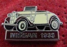 BEAU PIN'S VOITURE ROADSTER NISSAN 1933 ZAMAC AMC
