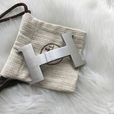 Hermes Constance belt buckle silver brushed suitable for 42 mm strap only buckle