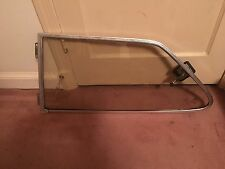 Classic Saab 900 2 Door Sedan or Hatchback Chrome Left Rear Vent Pop Out Window