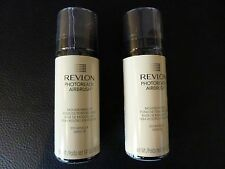 Revlon PhotoReady Airbrush Mousse Makeup - VANILLA  #010 - TWO - New / Sealed