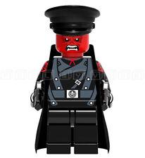 Red Skull Minifigura Johann Shmidt Personalizado Mini Figuras De Marvel se ajusta Lego