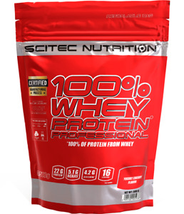SCITEC NUTRITION 100% WHEY PROTEIN PROTEIN  500g + FREE SHAKER