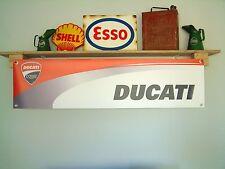 DUCATI Corse NUOVO DESIGN Pubblicità segnaletica Banner per officina o garage