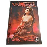 Queen of Vampires Volume #4 ARH Arkhalla Comics Comix 1st print Arahom Radjah