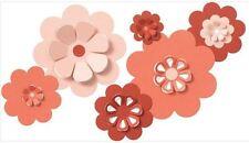 QuicKutz Lifestyle Crafts Die Set NESTING FLOWERS  Pop-Up, 3D ~  CC-SHAPE-6-017