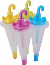 Ice pop Mould. Ice Cubes... Make ice lollies in Umbrella shape Tall Ice lollie