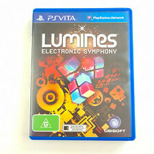 Lumines Electronic Symphony | PlayStation PS Vita |  | Great Cond. Tracked Post
