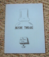"First Edition 1971 ""BEFORE THREADS"" THREADLESS INSULATORS ref book David Delling"