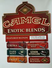 Camel Advertising Exotic Blends Featured Sign New in Box Mint Condition 2001