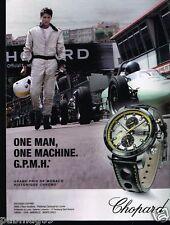 Publicité advertising 2014 Montre Chopard Monaco Historique