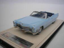 Cadillac Deville Cabriolet 1968 Artic Blue 1/43 GLM Stamp Models STM68703 New