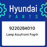 92202B4010 Hyundai Lamp assyfront fogrh 92202B4010, New Genuine OEM Part