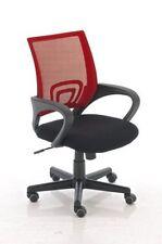 Chaise de bureau rouge pour la maison