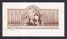 MARIA DOMENICA MAZZARELLO 04 SANTINO HOLY CARD EX INDUMENTIS RELIQUIA RELIC