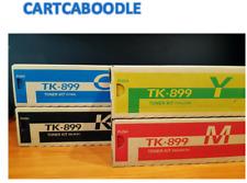 Genuine Kyocera TK-899 FULL TONER SET for FS-C8020 / C8025 / C8520 / C8525 TK899