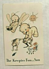 Adorable 1970's Kewpie Doll Postcard The Kewpies Fun and the Sun