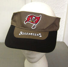 TAMPA BAY BUCCANEERS pirate flag NFL sun-visor embroidery hat 1990s logo cap