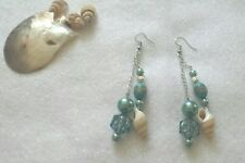 Sea-Shell silver plated Earrings