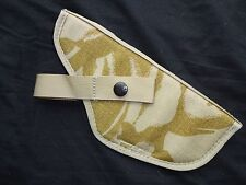 British Army MOLLE HOLSTER - DESERT DPM - USED - NEW / UNISSUED - Genuine