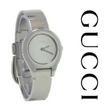 RARE GUCCI G WATCH 6700L LADIES / WOMENS WATCH IN STAINLESS STEEL, STUNNING