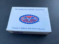 The American Pewter Collection Ah71 5 Piece Collection