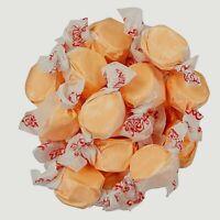 GOURMET CANTALOUPE Salt Water Taffy Candy TAFFY TOWN 1/4 to 10 LB BAG