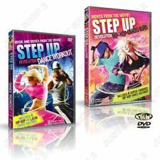 Step up Revolution Hip Hop Cardio Burn Dance Workout 2 DVD Set
