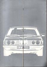 Depliant brochure catalogue BMW 733I SERIE 7 728 730   FRANCAIS