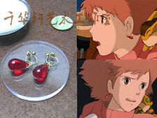 Nausicaa of the Valley of the Wind Nausicaa  Cosplay Red Ear Clip Earring Gift