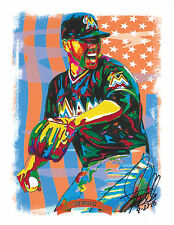 Jose Fernandez Miami Marlins MLB Baseball Sports Poster Print Wall Art 8.5x11