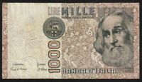 1982 Italy 1000 lire P-109a circulated banknote Marco Polo