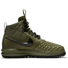 2017 Nike Lunar Air Force 1 Duckboot 17 SZ 9.5 Medium Olive Green LF1 916682-202
