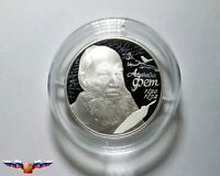 Russia 2 rubles 2020 Poet Afanasy A. Fet Silver 1/2 oz PROOF