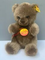STEIFF MANSCHLI TEDDY BEAR PLUSH # 0310/19 GENUINE MOHAIR TAGGED SIGNED EUC
