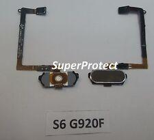 Samsung Genuino Original S6 G920F Botón de Home Flexible oro