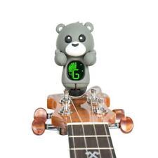 Gray Bear Clip-on Digital Tuner - Violin, Guitar, Ukulele, Banjo, Mandolin, Bass
