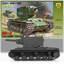 ZVEZDA 1/35 KV-2 SOVIET HEAVY TANK 3608