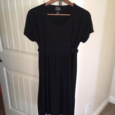 Oh Baby by Motherhood Maternity Casual/Career Black Dress - Size Small