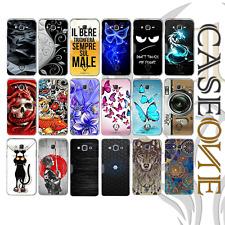 CUSTODIA COVER CASE MPU  TPU GOMMA x SAMSUNG J1 / J3 / J5 / J7 2016 + PELLICOLA